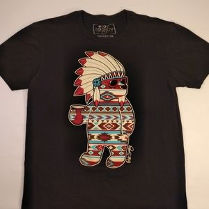 Medium Black Navajo Bear Shirt by Riot Society